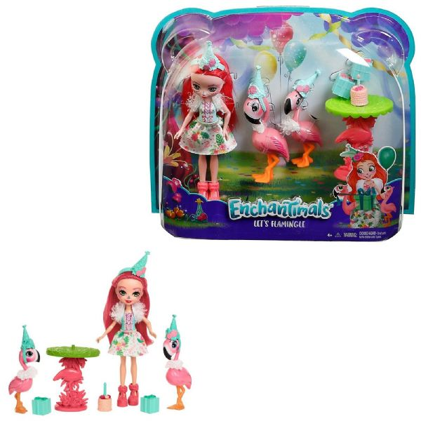 Mattel Enchantimals Lets Flamingle - 4+ Years FCC62